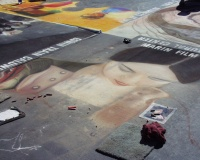 Highlight for Album: ITALIAN STREET PAINTING FESTIVAL, SAN RAFAEL