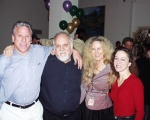 Michael Borbridge, Robert Altman, Thea Chalmers and Joanne Pieroni